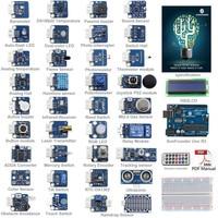 SunFounder 37 Modules UNO R3 Sensor Kit V2 0 For Arduino UNO R3 Mega2560 Mega328 Nano