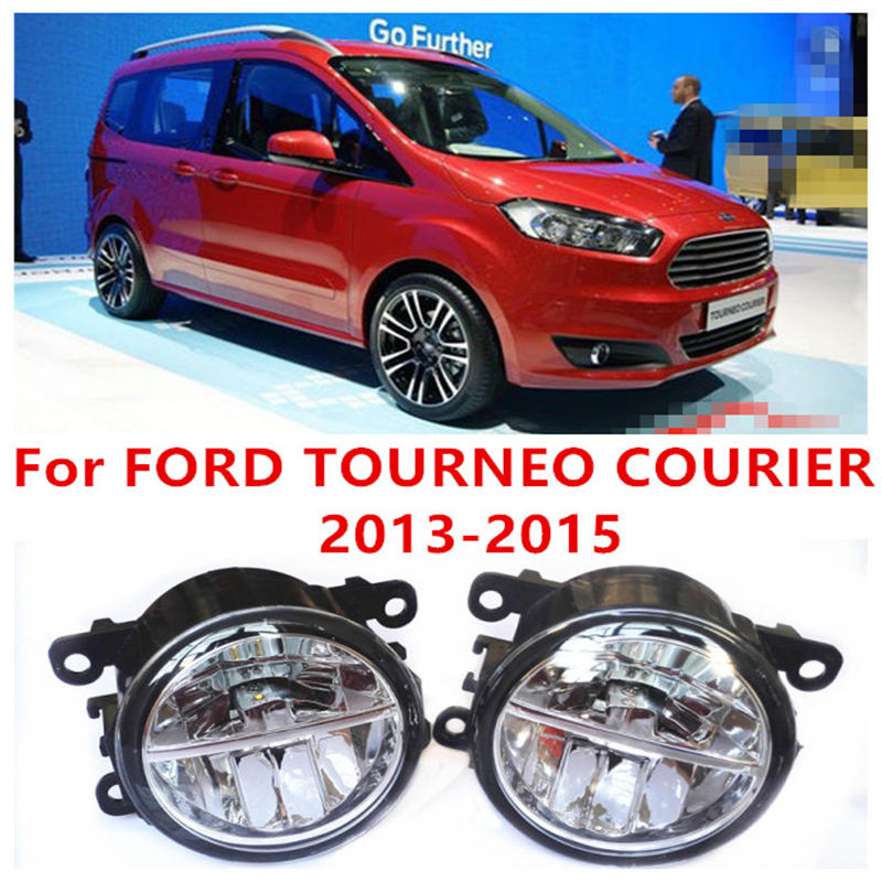 For FORD TOURNEO COURIER 2013-2015 Fog Lamps LED Car Styling 10W Yellow White 2016 new lights for ford fiesta van box 2009 2015 fog lamps led car styling 10w yellow white 2016 new lights
