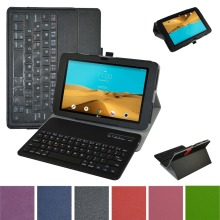 New Removable Bluetooth Keyboard Leather Case Cover For 10.1″LG G PAD II 10.1 V940N Tablet