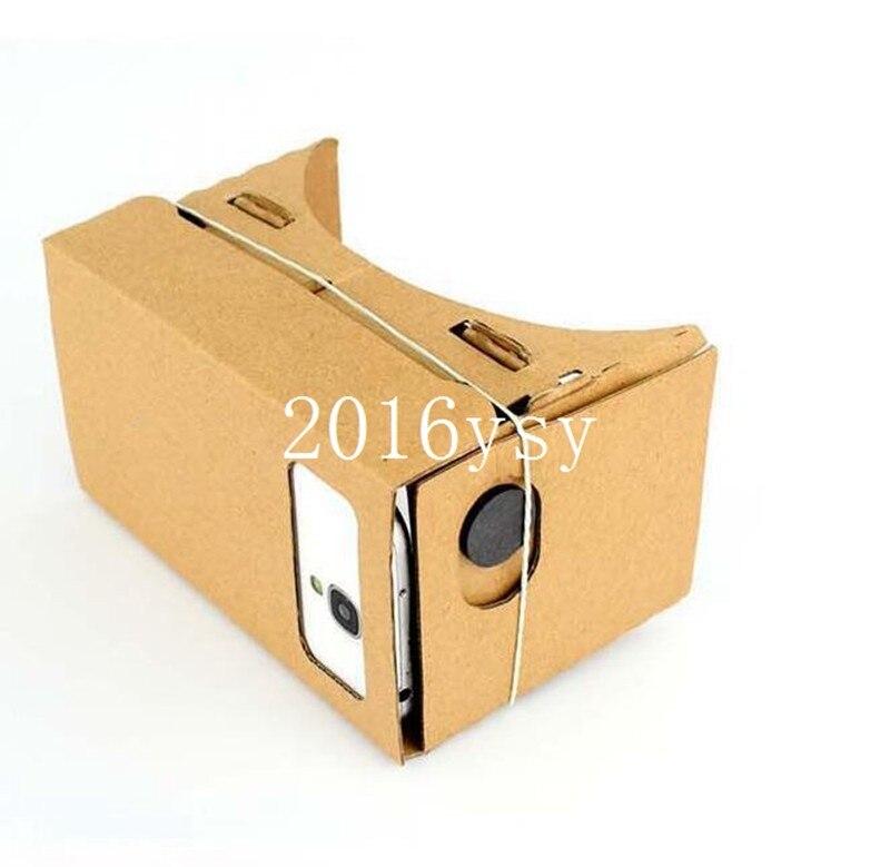 """200pcs <font><b>High</b></font> <font><b>quality</b></font> <font><b>DIY</b></font> Google <font><b>Cardboard</b></font> <font><b>Virtual</b></font> <font><b>Reality</b></font> VR Mobile Phone 3D <font><b>Viewing</b></font> Glasses for 5.0"""" Screen Google VR 3D Glasses"""