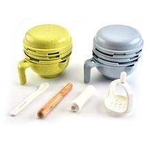 Детская шлифовальная пищевая добавка для кормления измельчающая пищевая посуда гигиенический набор Nibbler для младенцев ручной работы Инструменты для приготовления пищи Новые