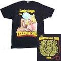 2018 футболка с коротким рукавом Lady Gaga Phone Monster Ball Tour 2010 2011 черная футболка новая официальная футболка из 100% хлопка Br - фото
