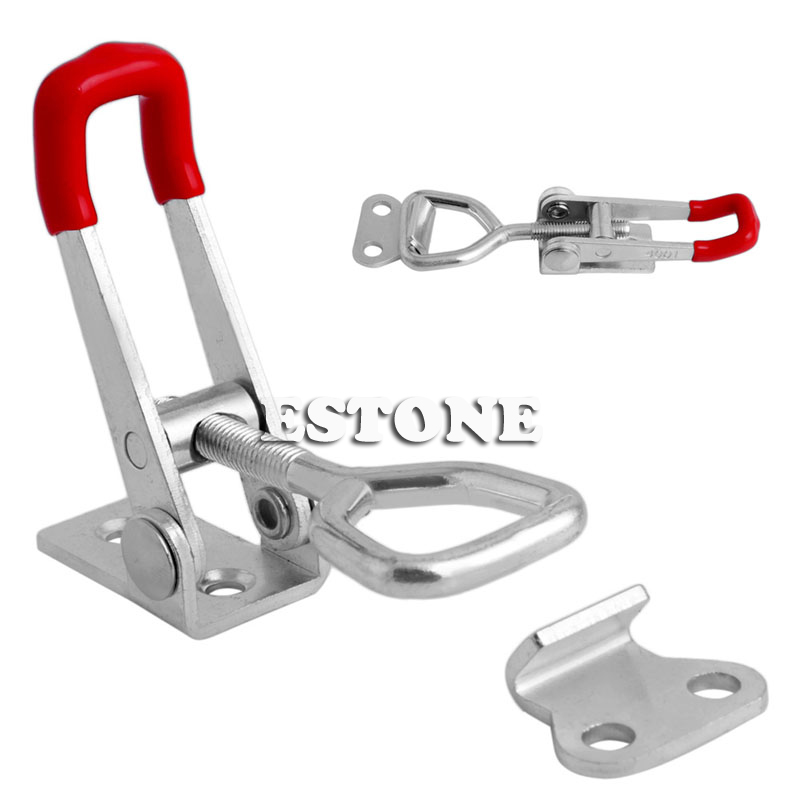 Quick Toggle Clamp 100Kg 220Lbs Holding Capacity Latch Metal Hand Tool <font><b>GH</b></font>-<font><b>4001</b></font> image
