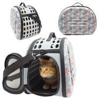 EVA plegable Suave Pet Carrier Cachorro Perro Gato Hombro Recorrido Al Aire Libre bolsa para el Pequeño Perro Mascotas Perrera Portátil Bolsa de Viaje Para Mascotas