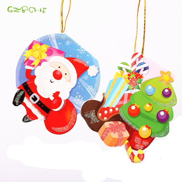 10pcs merry christmas card greeting card wish card sticker 10pcs merry christmas card greeting card wish card sticker ornaments pendant christmas m4hsunfo