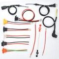 Зарядное устройство для электрического скутера и велосипеда  соединительный кабель  держатель предохранителя ATO  аккумулятор  жгуты  соеди...