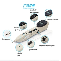 2016 New Energy Meridians Pen Electronic Point Massage Device Electric Diagnosis Acupuncture Stimulation Of The Meridians
