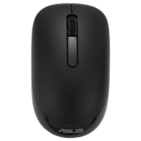 ASUS WT 205 Black Silent Wireless Game Office Mouse Slim Fornotebook Home Desktop PC Plug And Play USB