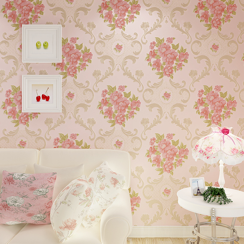 beibehang wall paper Fine pressure Continental garden three dimensional non - woven wallpaper warm bedroom living room full shop beibehang wallpaper 3d three dimensional relief korean garden flower large open living room bedroom full shop wallpaper backdrop