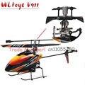 Envío libre actualiza aluminio y metal V911 2.4 G 4CH rc helicóptero V911 wl juguete rc juguetes de regalo v911-1