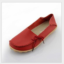 10colors! Women Genuine Leather Mother Shoes Moccasins Women's Soft Leisure Flats Female Driving Shoe Flat Loafers