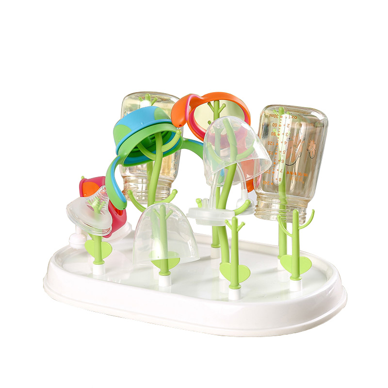 Bottle Dryer Baby Bottle Drying Rack Drainer Bottle Holder Portable Drying Cup Rack For Cleaning Drying