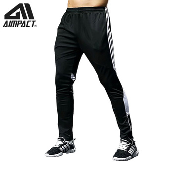 AIMPACT Men's Jogger Pants Sporty Running Gym Long Sweatpants Man With Zipper Pocket Male Active Tracksuit Basketball Pants