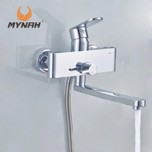 MYNAH Russia free shipping 3 in 1 combination set  Shower rack Shower system Tropical Shower Shower rack with mixer bath mixer