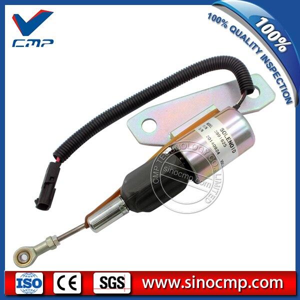R200-5 R220-7 24V zatrzymania paliwa przełącznik 3991625 wyłącza się zerwanie płomienia elektromagnetyczny SA-4959-24 dla Hyundai