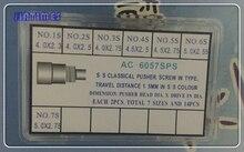 Livraison Gratuite 1 Set En Acier Inoxydable Chronographe Lecteur Dans Type Bouton/Montre Poussoir