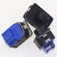 High Quality 3PCS Factory Direct Sale Adjust Knob Side Mirror Switch With Memory For AD A6