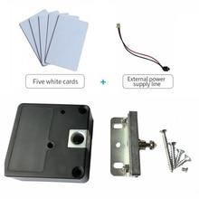Invisible door lock RFID Electronic Smart Cabinet Locker Door Lock Wardrobe Drawer Lock Hidden Door Lock