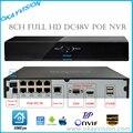 8-КАНАЛЬНЫЙ Onvif Full HD 1080 P 48 В Real PoE NVR Все-в-одном Сети Видео рекордер для Камер PoE IP P2P Cloud Service XM xmeye POE NVR