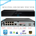 8CH Onvif Full HD 1080P 48V Real PoE NVR All-in-one Network Video Recorder for PoE IP Cameras P2P Cloud Service XM xmeye POE NVR