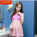 Summer Maternity Swimsuit For Pregnant Women Pregnant Swimwear Bikini Beach Cover Up Dress Maternity Bathing Suit T01