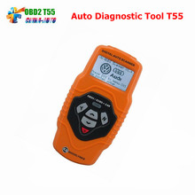 Portable V–A–G Scanner T55 Quicklynks Auto OBD2 EOBD/OBDII +Can Scanner Diagnostic Tools Code Reader Scan tools Free shipping