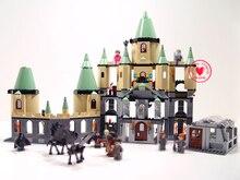 Ladrillos de Harry Potter Magia Hogwort Castillo Set LEPIN 16029 Serie Movie Niños Educativos Bloques de Construcción Para Niños Juguetes de Regalo 5378