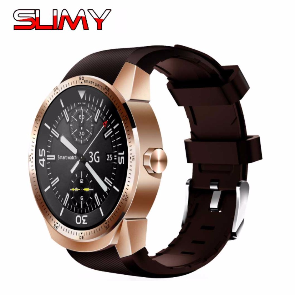 Slimy K98H Smart Watch Heart Rate Monitor SmartWatch Android 4.4 MTK6572A Pedometer Wristwatch with 3G GPS Smartwatch in Stock smart watch smartwatch dm368 1 39 amoled display quad core bluetooth4 heart rate monitor wristwatch ios android phones pk k8