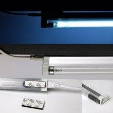 Компактный кварц бактерицидная лампа комплект убить, вирус клещей плесень дезодорант чистке средство 4 Вт 6 Вт 8 Вт 15 Вт озона 110 В 220 В