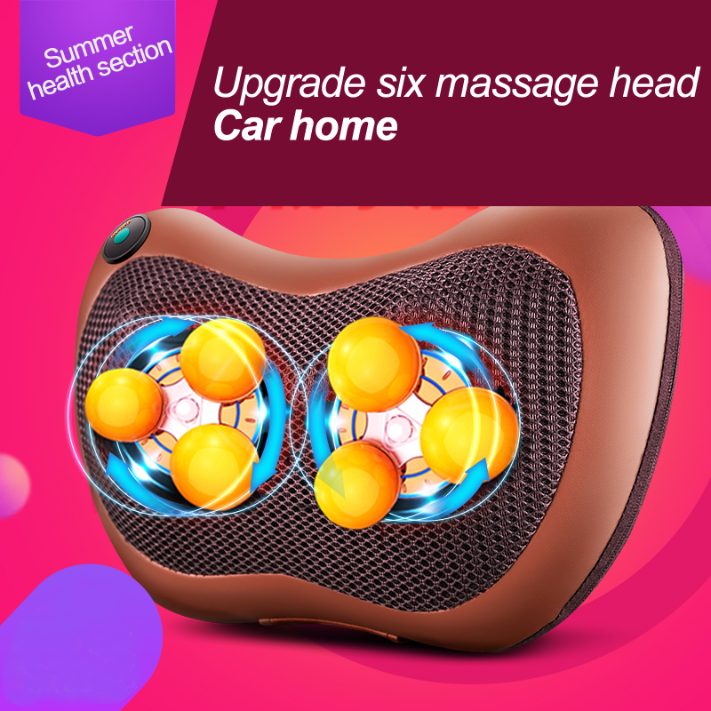 2016 NEW Cervical massage device neck multifunctional full-body massage pillow for household car massage cushion household cervical massage device neck multifunctional electric full body cushion car massage pillow for infrared heating