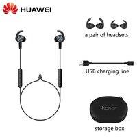 Новый huawei Honor xsport AM61 наушники Bluetooth беспроводное соединение с микрофоном В Ухо Стиль зарядки легкая гарнитура для iOS Android