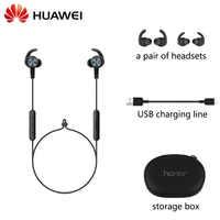 Nuevo Huawei Honor xsport AM61 auricular Bluetooth conexión inalámbrica con micrófono en el oído estilo carga fácil auriculares para iOS Android