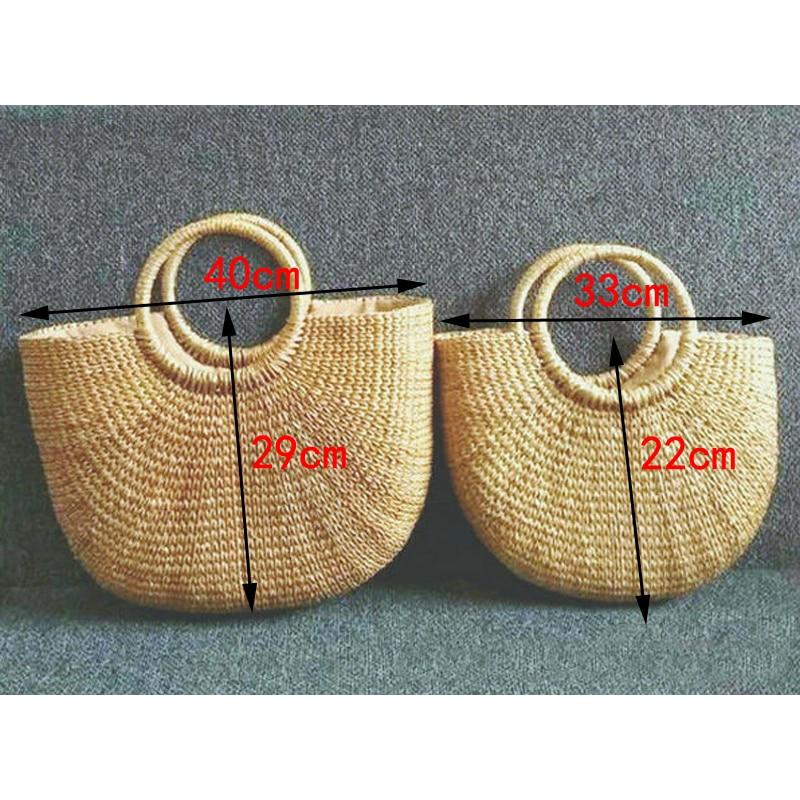 2019 new high quality tassel Rattan Bag beach bag straw totes bag bucket summer bags with tassels women handbag braided