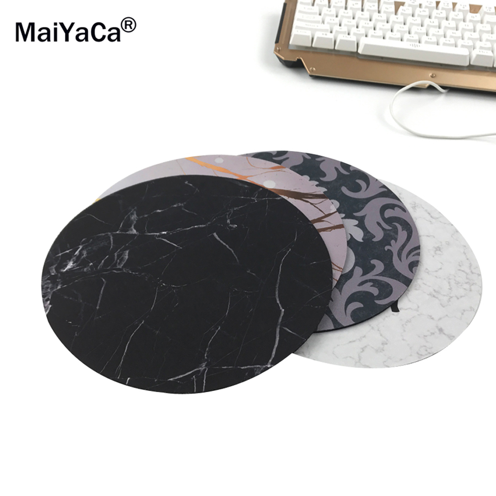 MaiYaCa New Small Size Computer desktop Game Marble lines Mouse Pad Non-Skid Rubber Pad20x20cm and 22x22cm Mouse Pads maiyaca rainbow pastel watercolor moroccan pattern prints mouse pad small size round gaming non skid rubber pad