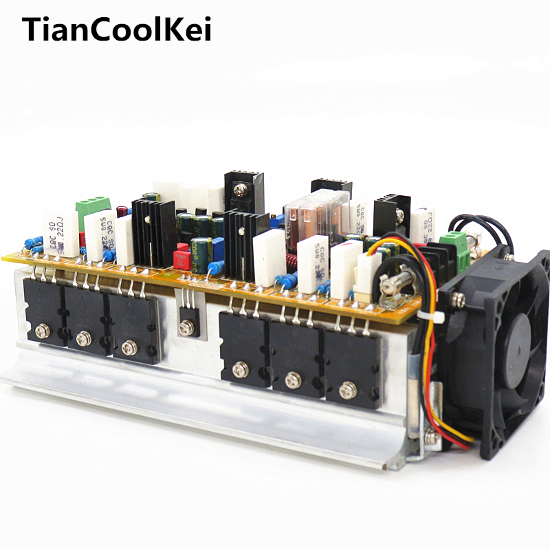 2017 NEW Amplifiers hifi 2 .0 A class stereo amplifier audio dual channel high amplificador 1200W high power amplifier board