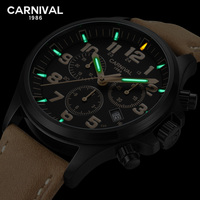 T25 Tritium Watch Really waterproof 30M swim Men Carnival Top Brand Luxury Automatic Mechanical Watches Sports military Clock