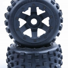 new knobby Rear tyres with inside cloth and upgrade waterpro