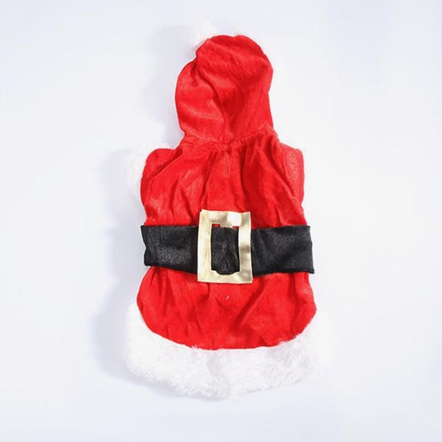 Christmas Dog Clothes Santa Suit