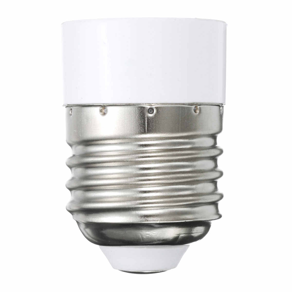 Jiguoor PC + Koper Materiaal E27 om E14 lamphouder Converter Schroef Socket Conversie gloeilamp Base type Adapter
