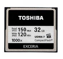 Toshiba 150 mb/s 1000×32 gb karta cf 64 gb 128 gb class 10 udma 7 karty pamięci compactflash do canon nikon digital slr kamera