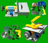 DIY Mini Grinding Cutting Machine / Multi function Desktop Jewelry Engraving Machine / Micro Drill Grinder For 350W