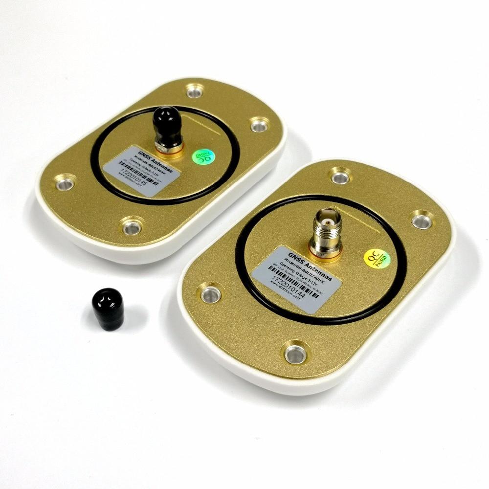 2 pièces antenne GNSS aéronef sans pilote (UAV) antenne gps UGV RTK trois systèmes GPS/GONASS Beidou antenne Aviation à sept fréquences pour haute Performance