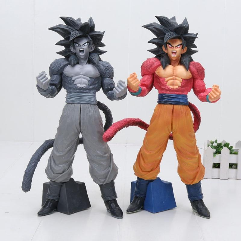 См 32 см Dragon Ball Супер Saiyan 4 Сон Гоку фигурку Коллекционная модель игрушки для девочек/мальчиков