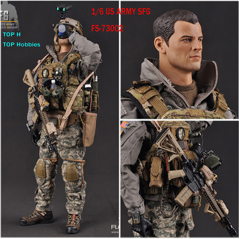 FS-73002 FLAGSET 1/6 MARSOC The United States ARMY Forces SFG Marine Corps Special Operations Group Collection Action Figure DIY did1 6 the rock us marine corps general francis x hummel model12inch action figure doll the finished product
