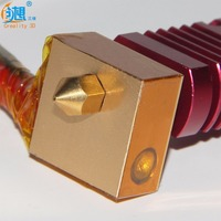 1 PCS Extruder With Nozzle Kits For CR 10 Series 3D Printer Assembled With Nozzle Heating