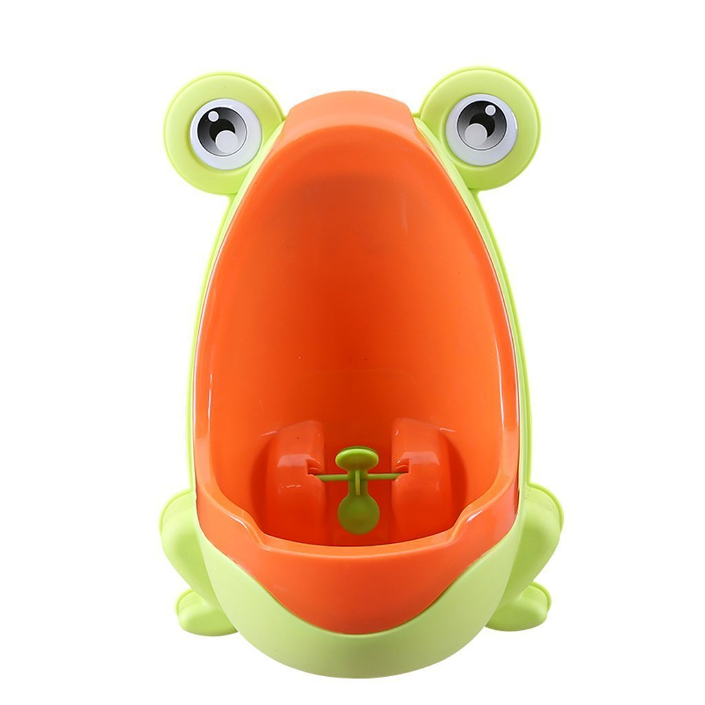 Froggy Baby Urinal - Perfect Mommy's Helper For Potty Training (LIGHT GREEN)