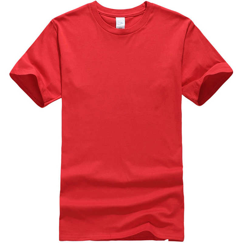 2018 新無地 Tシャツメンズ黒と白の綿 100% Tシャツ夏スケートボードメンズブランド tシャツプラスサイズ s-XXL