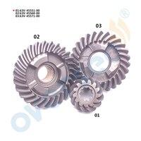 63V Gear Kit For Yamaha 15HP 9 9HP Outboard Motor 6E7 45560 6E7 45571 63V 45551