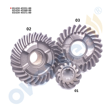 63 В Шестерни комплект для YAMAHA 15HP 9.9hp подвесной Двигатель 6e7-45560 6e7-45571 63v-45551 9.9e 15E серии