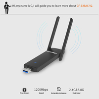 COMFAST Dual Band Wi Fi Dongle AC USB Wifi Adapter 1200mbps 802 11ac B G N